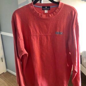 Long sleeve salmon t shirt